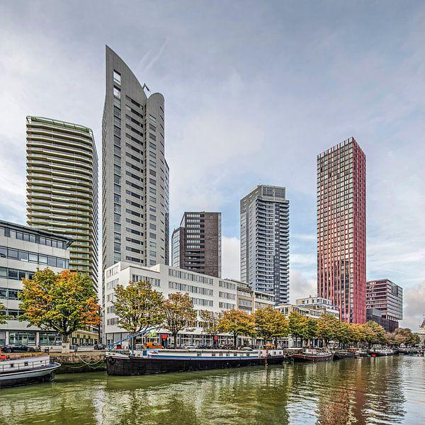 Herfst aan de Scheepmakershaven van Frans Blok