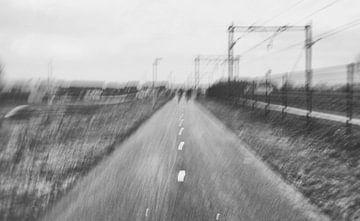 bike impressionisme van Karin vanBijleveltFotografie