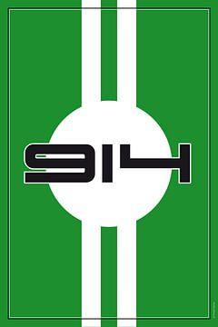 Porsche 914, racewagenontwerp van Theodor Decker