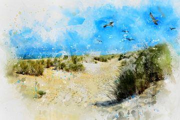Nordsee - Küste von Claudia Evans
