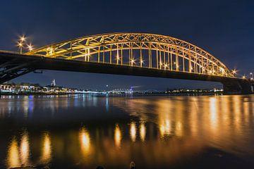 Nijmegen Waalbrug 3x2 van Julien Beyrath