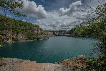Blaue Lagune von serge baugniet