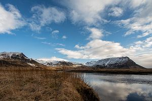 Landschaft von Island von Leon Eikenaar