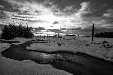 Winterlandschaft von benjamin Gilson