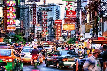 Chinatown Bangkok van Bernd Hartner
