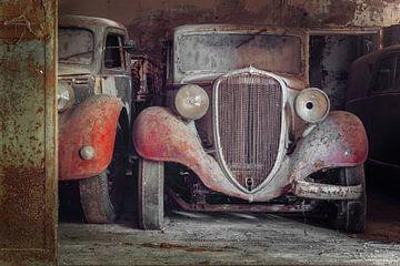 aufgegebenes Fiat von Kristof Ven