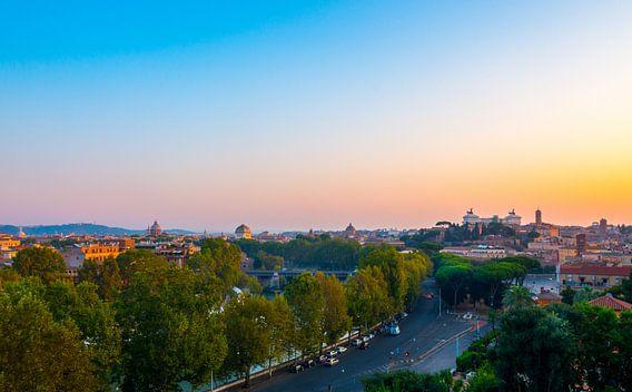 Sunrise - Rome van Jelmer van Koert