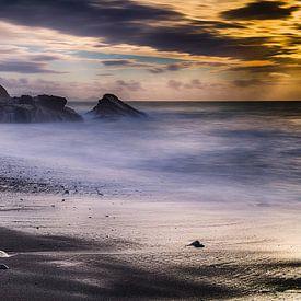 Zonsondergang Fuerteventura van Ineke Nientied