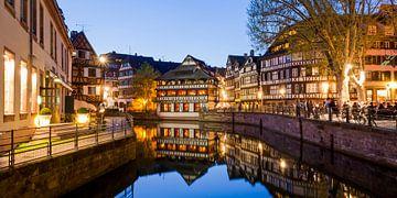 La Petite France à Strasbourg sur Werner Dieterich