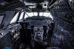 Concorde cockpit van