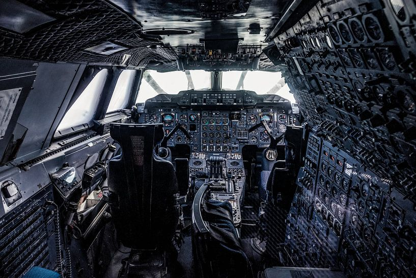 Concorde cockpit van Okko Huising - okkofoto