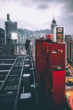 Rencontre sur le toit sur Flave_de
