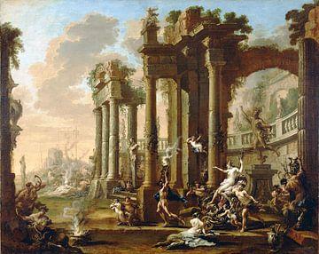 Alessandro Magnasco, de triomph van Venus,1730 van Atelier Liesjes