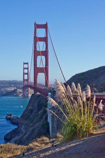 Golden Gate Bridge van Melanie Viola