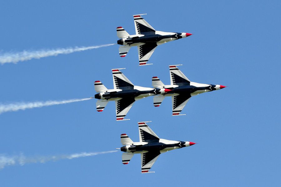 USAF Thunderbirds van Rogier Vermeulen