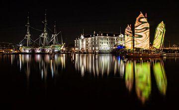 Amsterdam Light Festival van Reggy de With