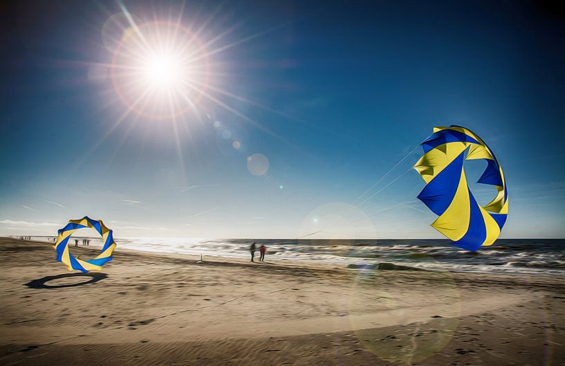 Dänemark Strand mit Bol von Dirk Bartschat