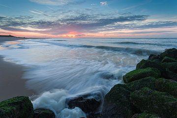 Sunset Beach von Harold van den Berge