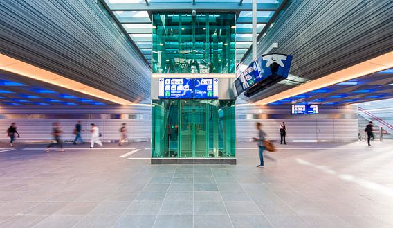 Station Zwolle van David Pronk