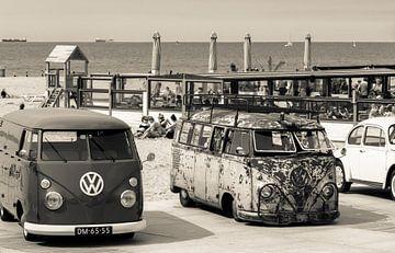 Strandleben auf Scheveningen von Marian Sintemaartensdijk