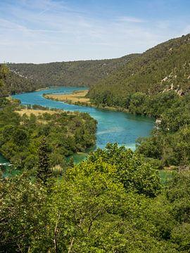 Krka Nationaal Park, Kroatië van Katrin May