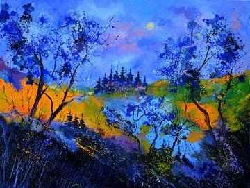Blaue Landschaft von pol ledent