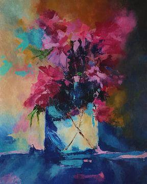 Blumenvase 2 von Angel Estevez