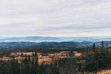 Norwegische Landschaft von Jessie Jansen