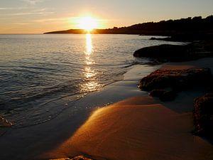 Warme Sonnenstrahlen am Strand von cuhle-fotos