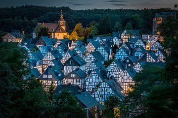 Die historischen Häuser von Freudenberg van Sabine Wagner