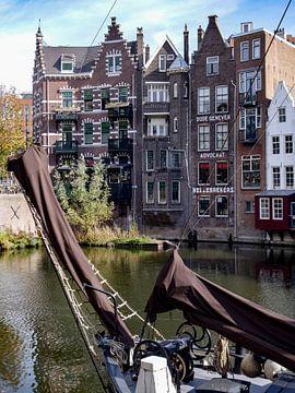 Nederland havenstad Rotterdam Delfshaven. The Netherlands port city of Rotterdam Delfshaven. van Anja Bos