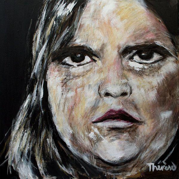 Porträt von Hackbraten. von Therese Brals