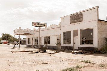 Uniroyal Tankstelle lange Route 66 von Els Broers