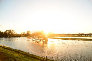 Sundown in the Netherlands