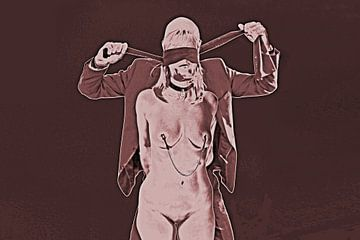 BDSM Sessie 1 van Vincent van Thom