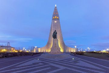 Hallgrímskirkja  Reykjavík van Patrick Lohmüller