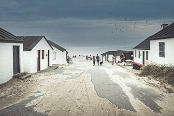 Le vieux port de Thy Stenbjerg au Danemark sur Truus Nijland