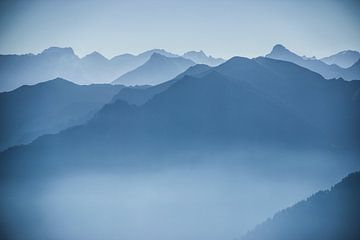 Berglandschap patroon van Sasja van der Grinten