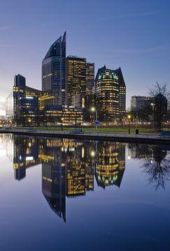 Blauw Den Haag von Remco Swiers