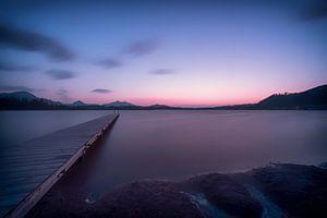 Friedlicher See von