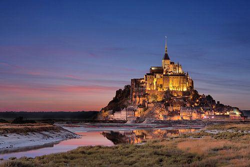Le Mont-Saint-Michel am der Küste Frankreichs