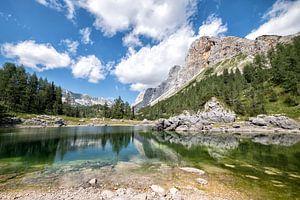 7 meren vallei, Triglav National Park, Slovenie van