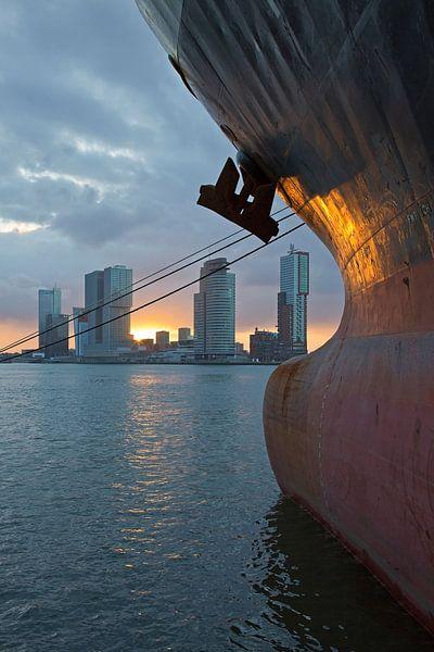 Boeg schip van Anton de Zeeuw