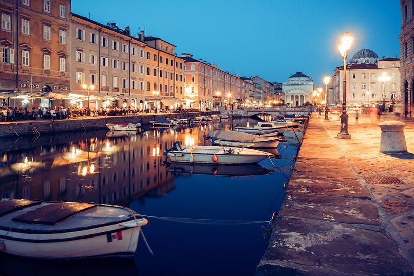 Trieste - Canal Grande van Alexander Voss