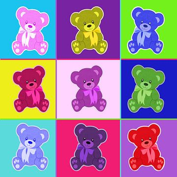 Bears ..... sur Yvonne Blokland