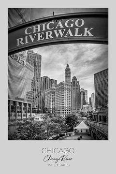 In beeld: CHICAGO Riverwalk van Melanie Viola