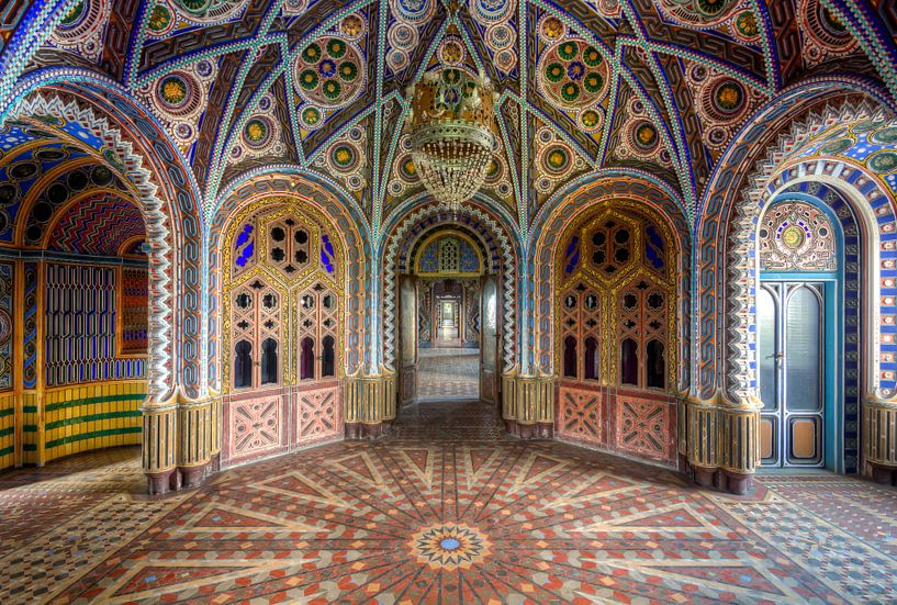 Kleurrijke kamer van Roman Robroek
