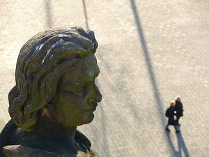 Otto das Kind (Otto I.) überblickt den Schlossplatz