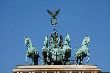 Quadriga aan de Brandenburger Tor, Berlijn, Duitsland van Torsten Krüger