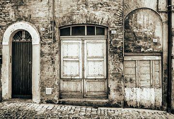 Straatje in Perugia van